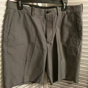 Gray Wrinkle Free Shorts by Nordstrom